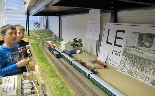 Provoz kolejiště - stanice Ledeč