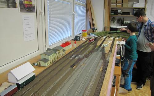 Pohled seshora - stanice Světlá