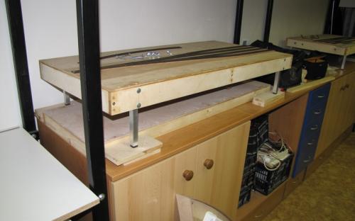 Doplnění výškově stavitelných nožiček