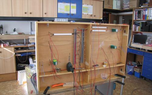 Elektroinstalační práce na dílu Sve-03