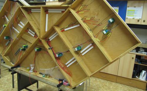 Elektroinstalační práce na dílu Sve-02