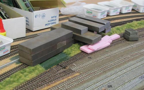 Rekonstrukce koleje odbočky z depa