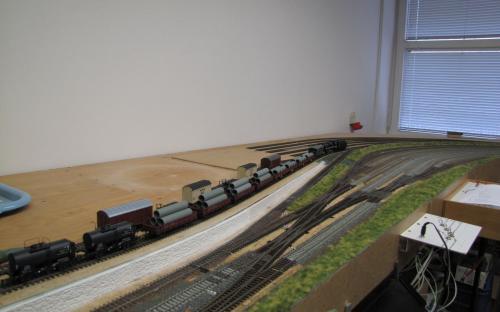 2937 - Výchozí postavení některých nákladních vozů v depu