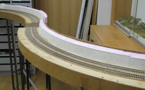 Modelování zárubního zdiva na trati Světlá - Brod