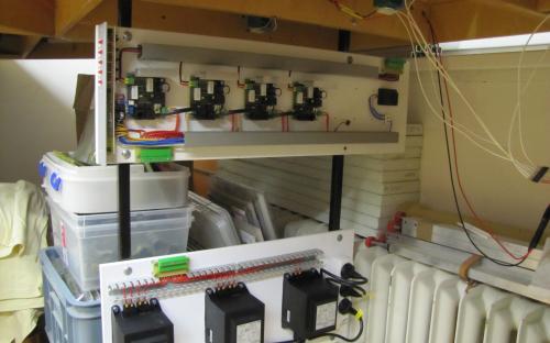 Trakční zdroje (SPAX) pro napájení stanice Světlá a depa