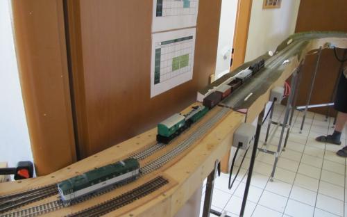 Nehodový vlak přijel k fiktivní nehodě