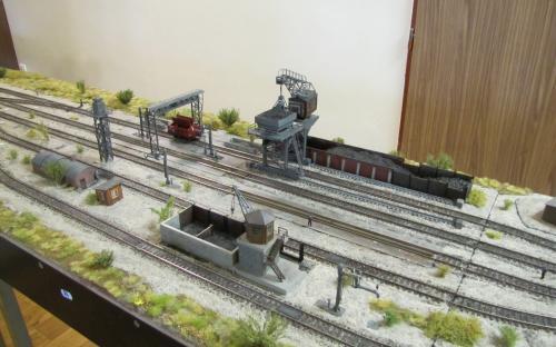 Lokomotivní depo pro parní provoz