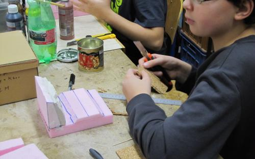 Úplní začátečníci zahájili v lednu práce na svých dioramatech