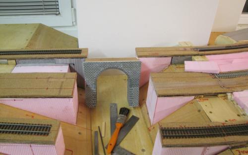 Most po vytmelení a opravě nátěru