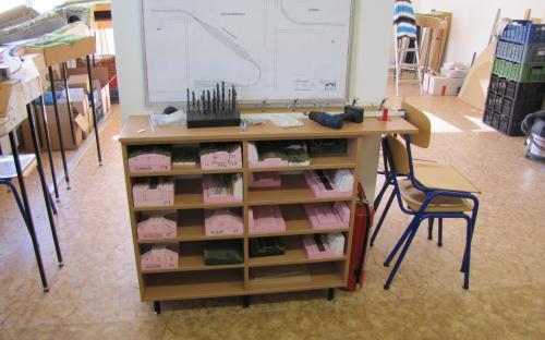 Další nová skříňka pro rozpracované cvičné práce našich žáků