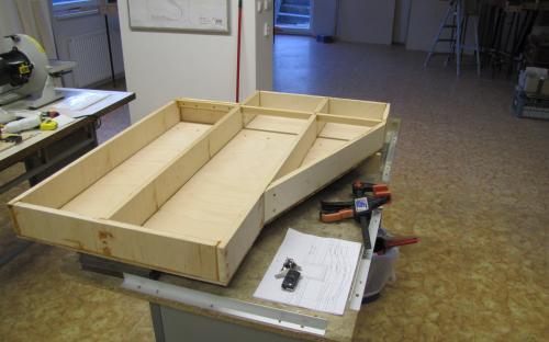 Nový traťový díl Tr02-01 ve výrobě
