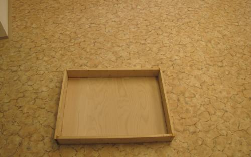 Rámy moho být jednoduchého tvaru 80 x 60 cm (pohled odspodu).