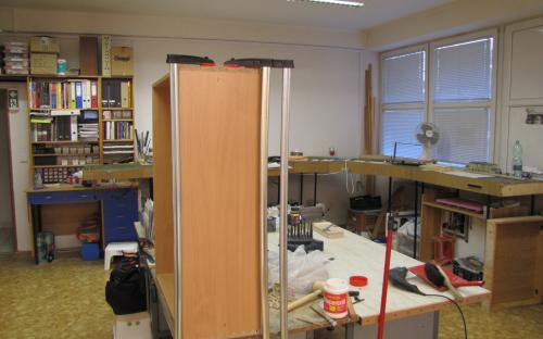 Rekapitulace prací - výroba skříněk nábytku do pracovny