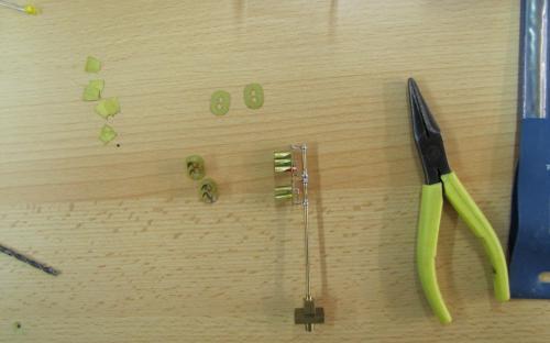 Další práce - prototyp světelného návěstidla z leptu