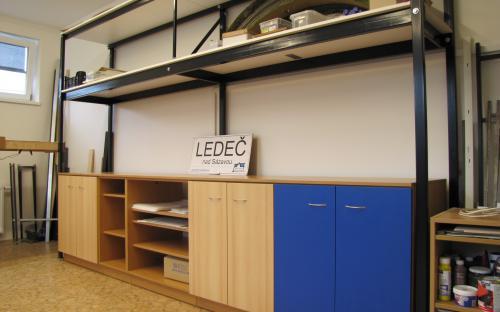 Rekapitulace prací - nové skřínky pod budoucím umístěním stanice Ledeč
